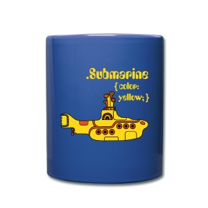 Yellow Submarine in CSS - Full Color Mug