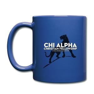 Blue Cougar Mug - Full Color Mug