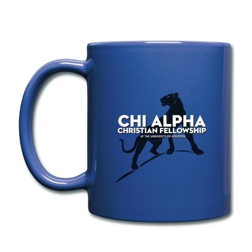 Blue Cougar Mug - Full Color Mug