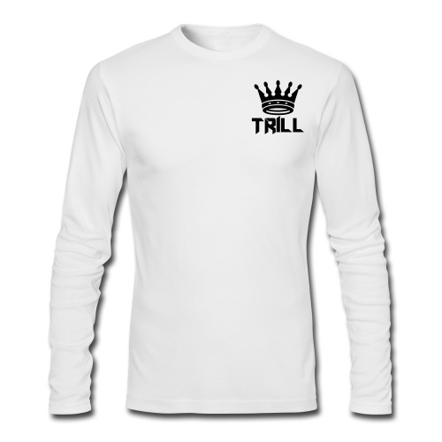 trill_crown - Men's Long Sleeve T-Shirt by Next Level