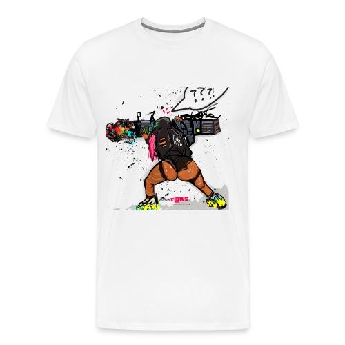 Thick Powerup Tee - Men's Premium T-Shirt