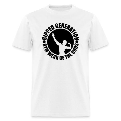Ripped Generation Badge Logo T-Shirt - Men's T-Shirt