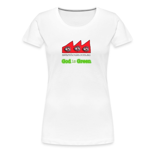God is Geen - Women  - Women's Premium T-Shirt