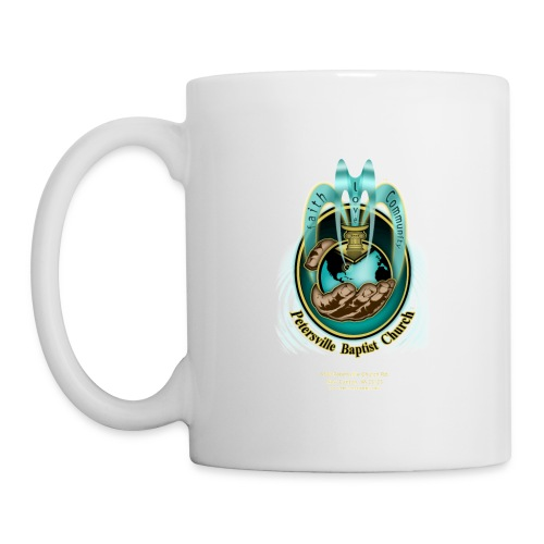 PBC Ministries Flowing Fountain + PBC Ministries in God's Hand 1 - Cup (White) - Coffee/Tea Mug