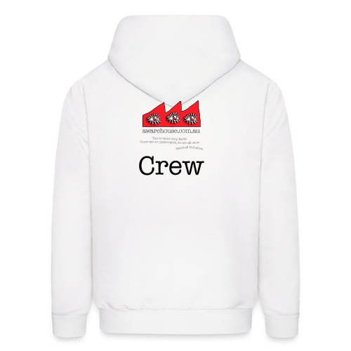 Crew - Men - Back Logo - Front Logo - Men's Hoodie