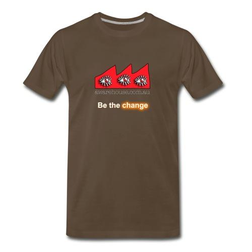 Be the Change - Men - Men's Premium T-Shirt