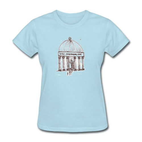 Non judgement Court - Women  - Women's T-Shirt