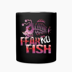 Fear No Fish Mugs & Drinkware