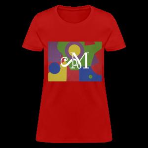 Collage Camo Tee for Women - Women's T-Shirt