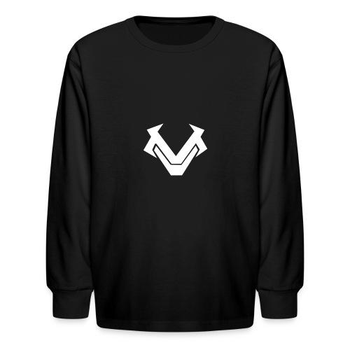 Black Long Sleeve  - Kids' Long Sleeve T-Shirt