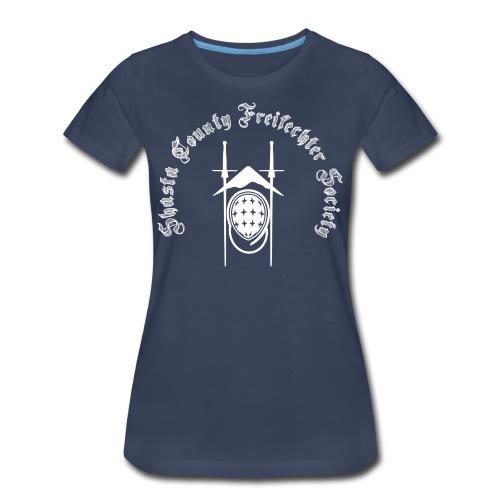 SCFS Women's T-shirt (White Logo) - Women's Premium T-Shirt