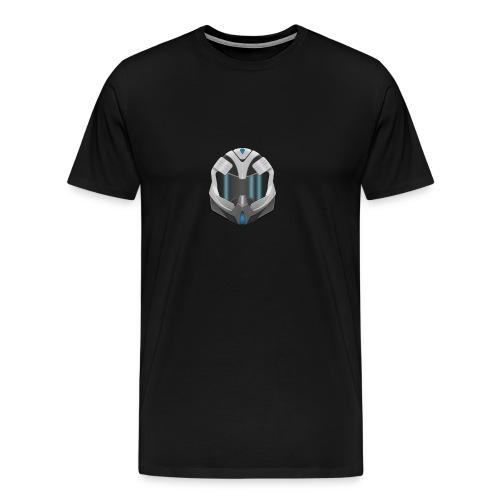 New Helmet Graphic T-Shirt - Men's Premium T-Shirt