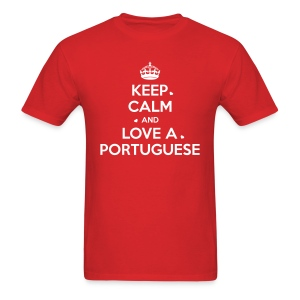 [NEW] KEEP CALM PORTUGAL - Men's T-Shirt