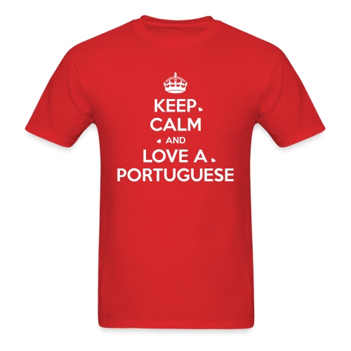 [NEW] KEEP CALM PORTUGAL - Men's T-Shirt