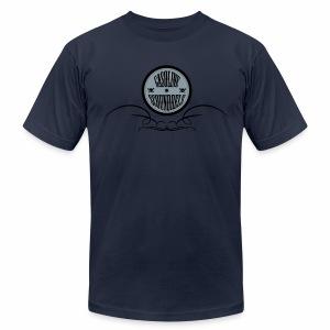 Gasoline Scoundrels Logo  - Men's Fine Jersey T-Shirt