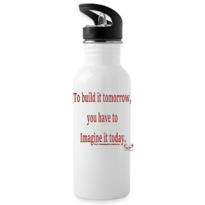To Build it tomorrow - Water Bottle
