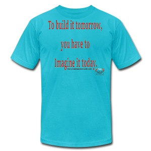 To Build it tomorrow - Men's T-Shirt by American Apparel