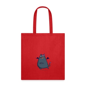 Demoncat — Friday Cat №43 - Tote Bag