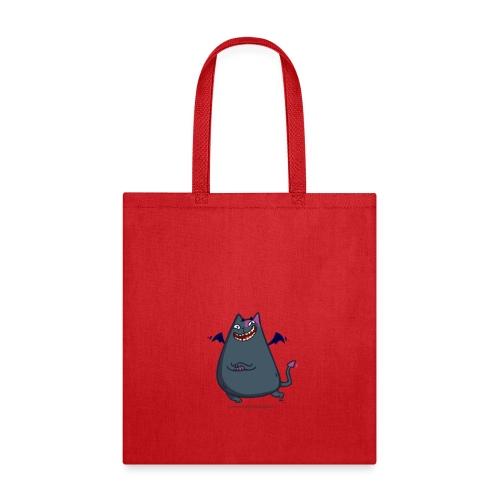 Demoncat — Friday Cat №43 - Tote Bag
