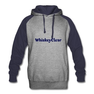 WhiskeyClear ColorBlock Hoodie - Colorblock Hoodie