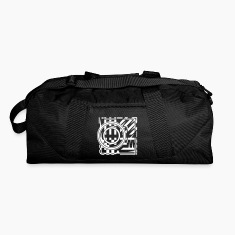 abstract graphic tattoo pattern Bags & backpacks