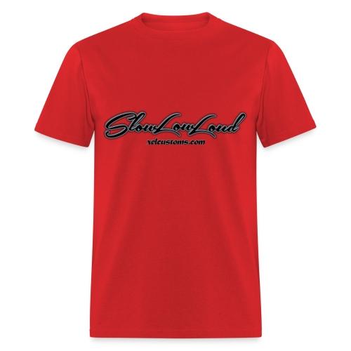 SlowLowLoud - Red - Men's T-Shirt