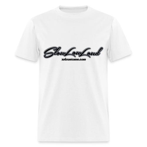 SlowLowLoud - White - Men's T-Shirt