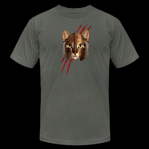 Mean Kitty T-shirt - Men's Fine Jersey T-Shirt