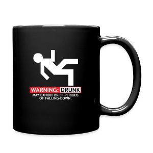 WARNING: DRUNK - Full Color Mug