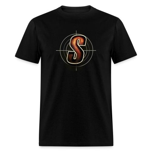 ShoddyCast Logo Orange - Men's T-Shirt