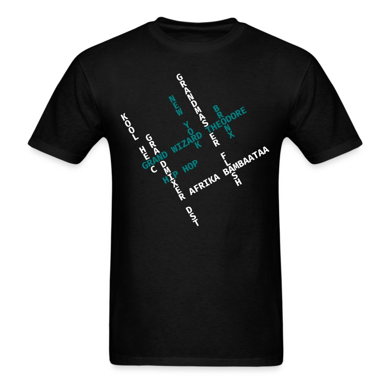 CrosswordHipHopPioneers - Men's T-Shirt