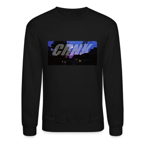 CRNK Logo T-shirt Purple Print (Black) - Crewneck Sweatshirt