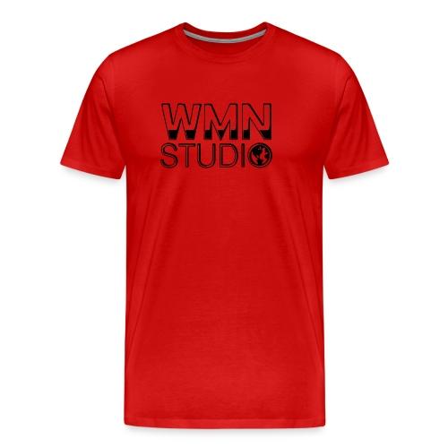 WMN Studio Logo Mens Hoodie - Men's Premium T-Shirt