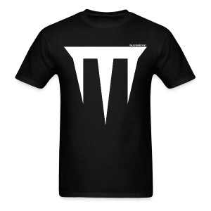 Wulfgard Inquisition Men's T-Shirt - White on Black - Men's T-Shirt