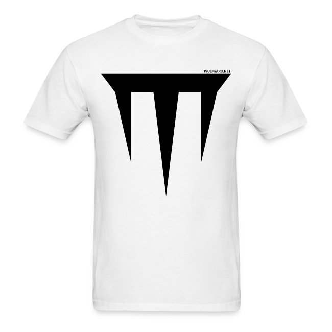 Wulfgard Inquisition Men's T-Shirt - Black on White
