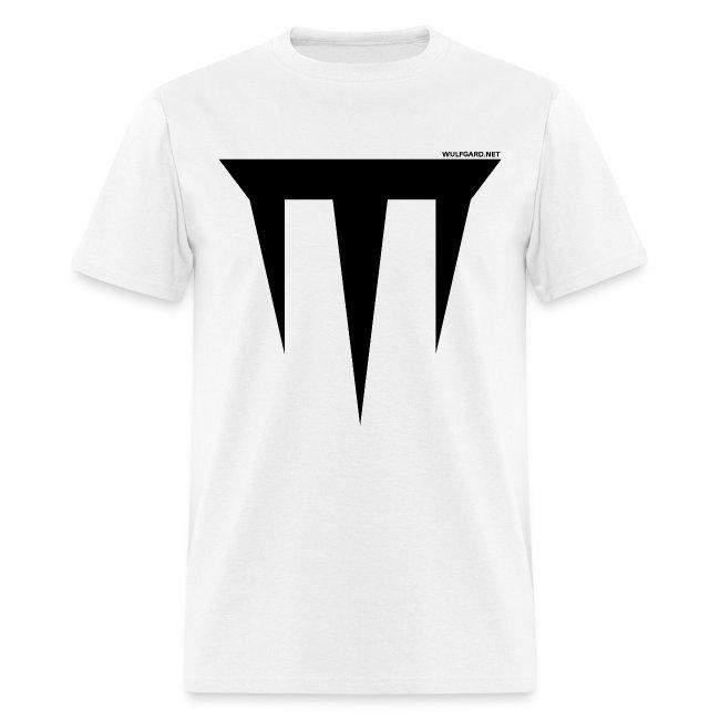 Wulfgard Inquisition Men's T-Shirt - Black on White