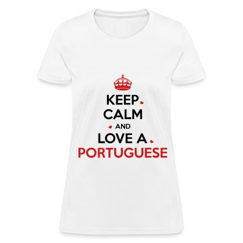 [NEW] KEEP CALM PORTUGAL - Women's T-Shirt