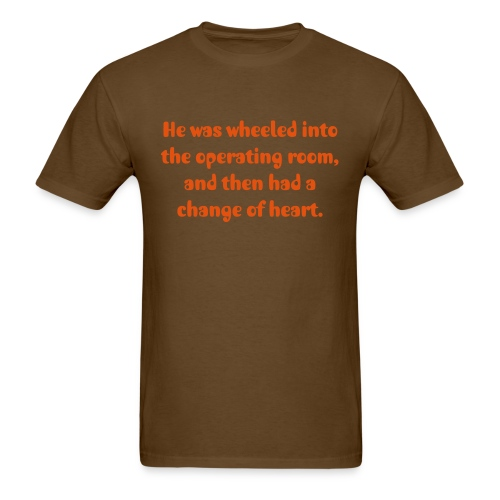 Heart Transplant - Men's T-Shirt