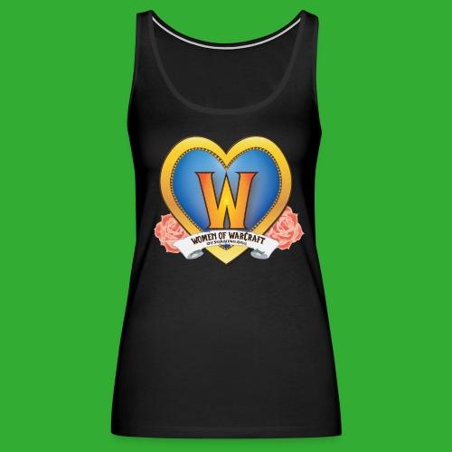 Women of Warcraft Tank - Women's Premium Tank Top