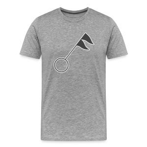 Gale Warning Men's T-shirt  - Men's Premium T-Shirt