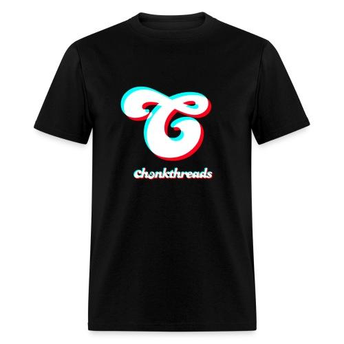 chonk threads logo - Men's T-Shirt