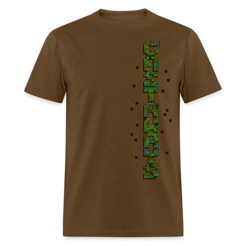 Men's brown Castaways shirt - Men's T-Shirt