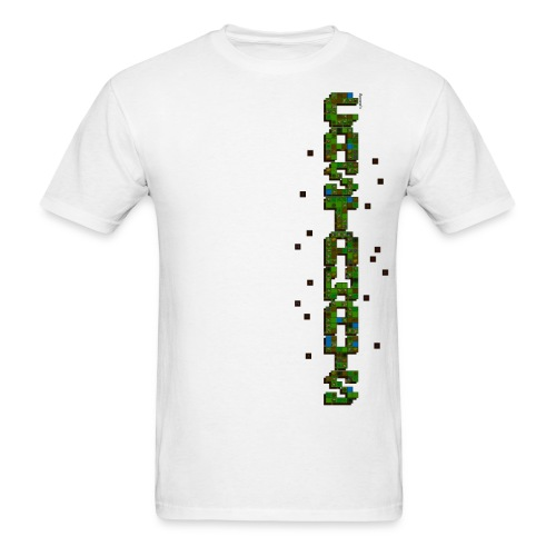 Men's white Castaways shirt - Men's T-Shirt