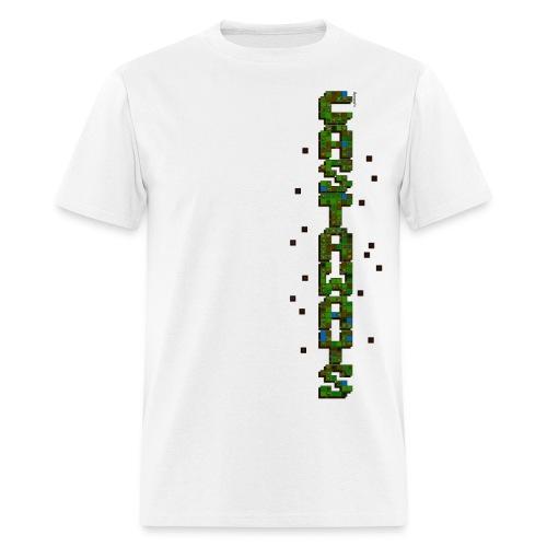 Men's white Castaways shirt - Men's T-Shirt
