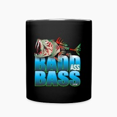 BAD ASS BASS Mugs & Drinkware