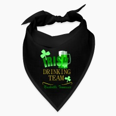 Nashville Irish Drinking Team Dark Bandana