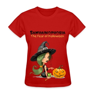 Samhainophobia - The Fear of Halloween - Women's T-Shirt