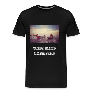 T-shirt, Tonle Sap Lake, Siem Reap, Cambodia - Men's Premium T-Shirt