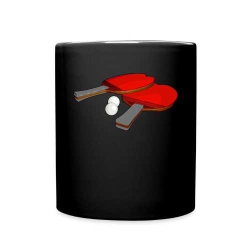 Valentine's ping pong paddle - Full Color Mug
