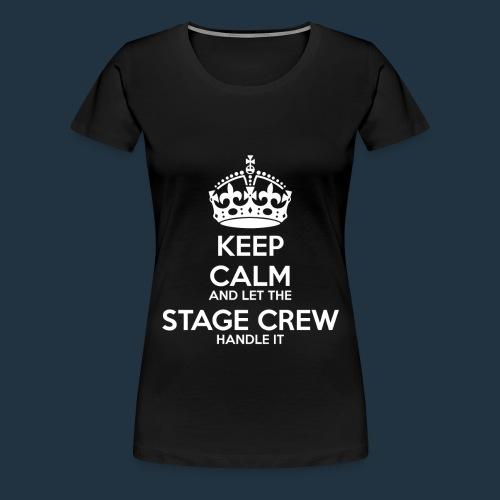 Stage Crew Tee | White - Women's Premium T-Shirt